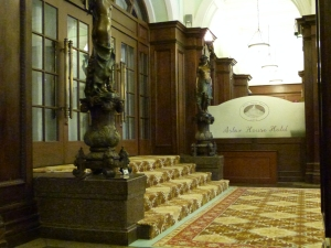Lobby im Hotel Astor