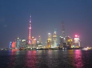 Pudong bei Nacht