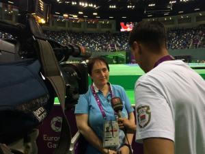 Interview mit dem weißrussischen TV