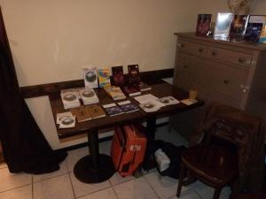 Der Büchertisch