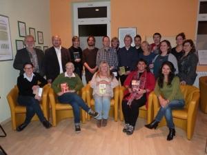 Die TeilnehmerInnen der BVjA-Lesung in Gelnhausen.