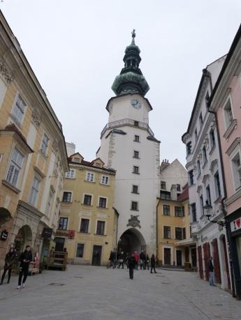 Der Michaelsturm in der Altstadt