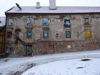 Ein altes Haus wird zum Kunstwerk