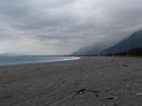 Strand beim Hotel