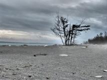 Strand verfremdet