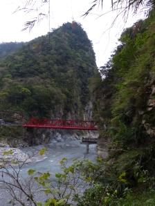 Brücke in der Schlucht