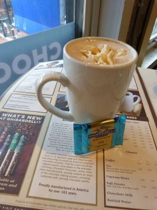 Seasalt Caramel Hot Chocolate - ein Traum!