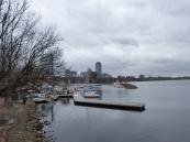 Blick auf den Charles River
