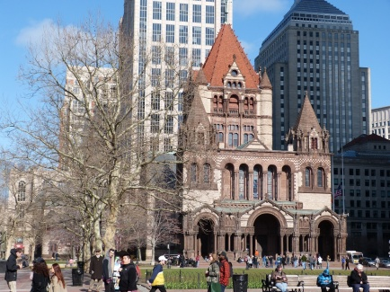 Copley Place und Trinity Church