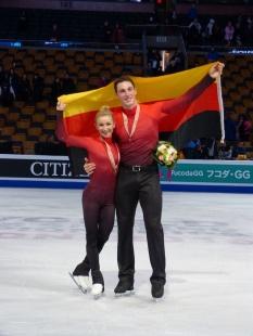 Bronze für Aljona und Bruno bei ihrem gemeinsamen WM-Debüt war ein toller Erfolg