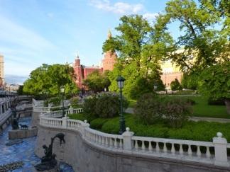 Der Alexandergarten am Kreml