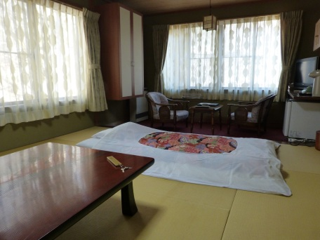 Mein Zimmer im Ryokan