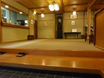 Die Eingangshalle meines Ryokan