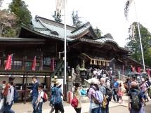 Viel los am Tempel auf dem Takao